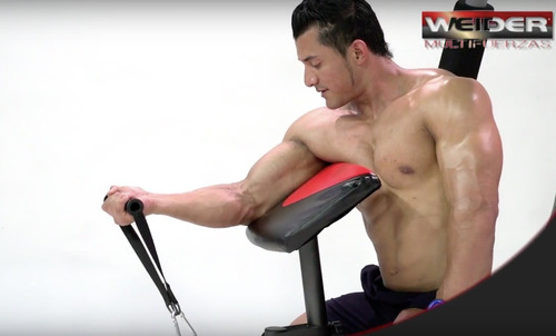 gimnasio weider, aparato de ejercicios multifuncional, gym