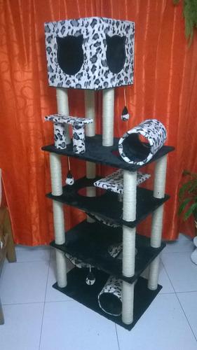 gimnasios para gatos en excelentes materiales y acabados.