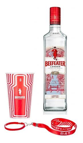 gin beefeater london dry - 750ml + copo e cordão