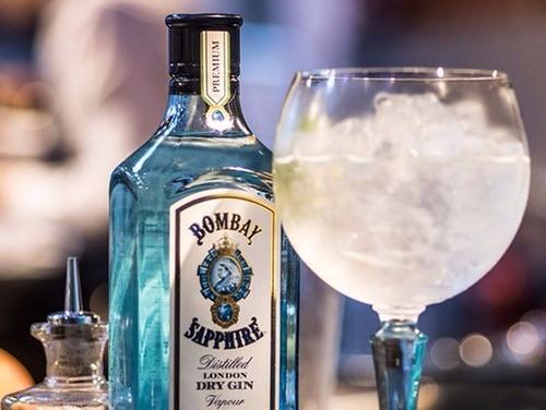 gin bombay sapphire litro original 100% garantizadas