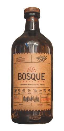gin bosque craft 500ml 01almacen