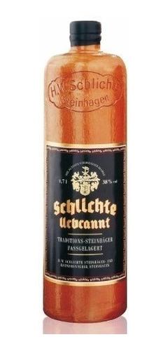 gin ginebra schlichte urbrannt botella cerámica e. grat caba
