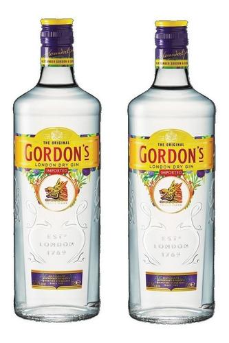 gin gordons gin 2 botellas envio gratis en el dia