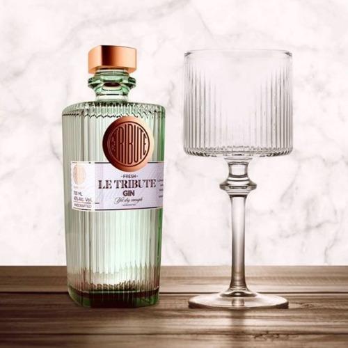 gin le tributte 700ml ginebra origen españa
