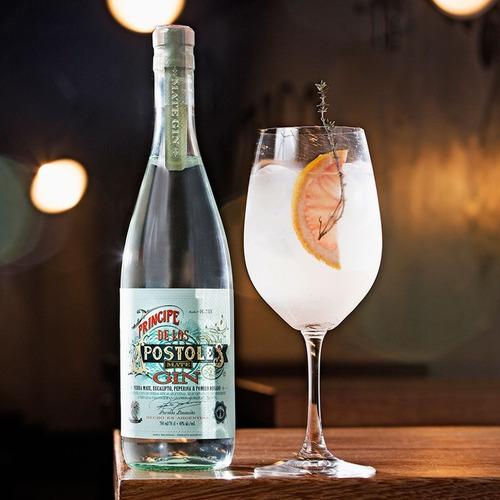 gin principe de los apostoles 700ml mate bebidas botella