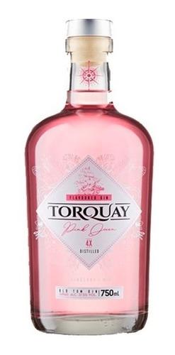 gin torquay pink 750ml - estilla
