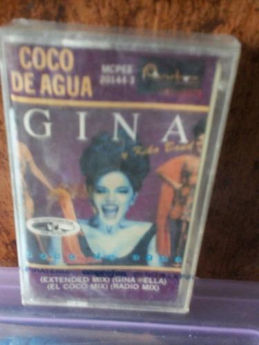 gina y kiko band. coco de agua. cassette.