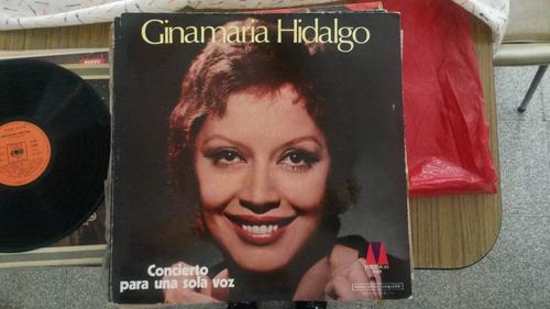 ginamaria hidalgo - concierto para una sola voz