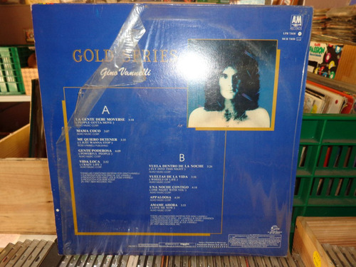 gino vannelli gold series disco lp vinil acetato 1987