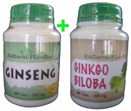 ginseng + ginkgo biloba emagrecedor antiox estimulante free