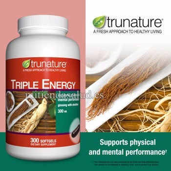 ginseng triple energy 300 mg americana 300 capsulas