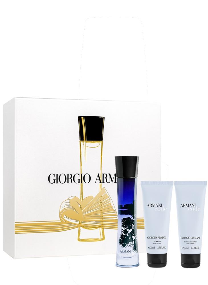 f40c2db8026 giorgio armani armani code gift box 3 produtos. Carregando zoom.