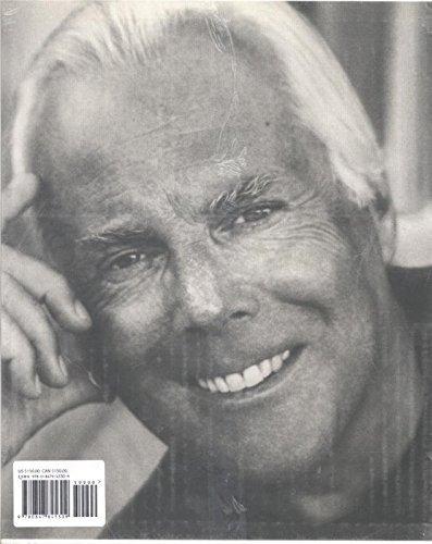 giorgio armani fotografia biografia moda inglês frete grátis
