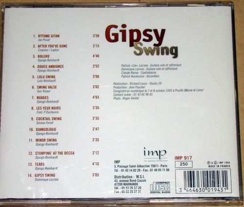 gipsy swing - gipsy swing cd frances / kktus
