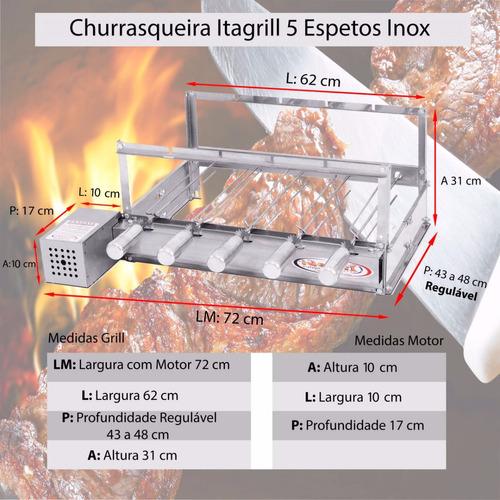 gira grill churrasqueira