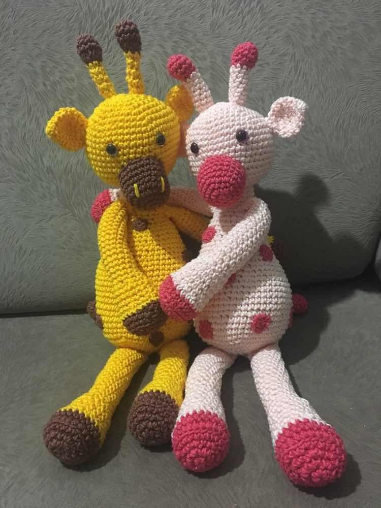Girafa baby amigurumi no Elo7   Amme Amigurumis (126F2D1)   1000x750