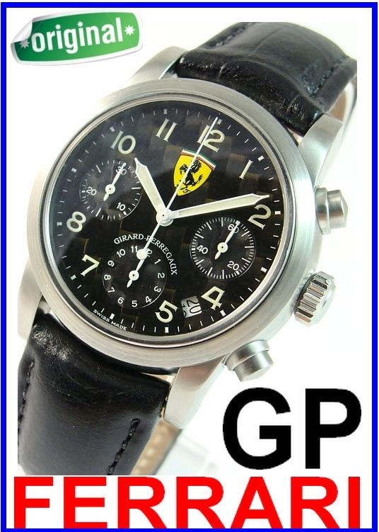 a49a8fa71d0 Girard Perregaux Ferrari Cronógrafo 57 Rubis Autêntico! - R  7.299 ...