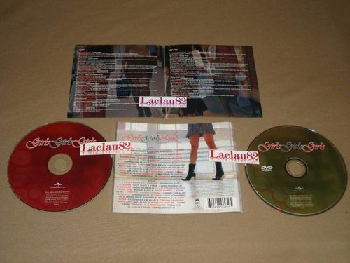 girls girls girls 07 universal cd+dvd alizze tatu rihanna