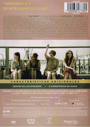 girls tercera temporada 3 tres dvd