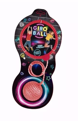 giro ball pelota soga con luz saltar bailar giroball manias