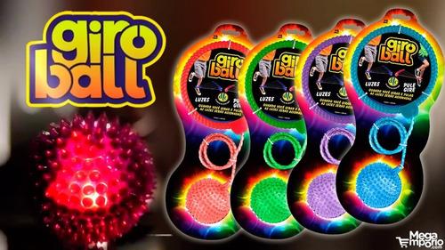 giroball com luzes dtc pule e gire cor verde 3805