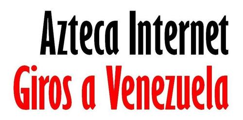 giros a venezuela