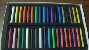 gis pastel seco stafford 36 colores papelería arte dibujo 3p