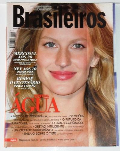 gisele bundchen brasileiros ed.44-mar\2011 excelente