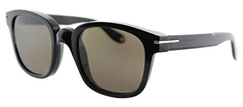 fbe019be3b givenchy gv gafas de sol cuadradas de plástico negro brown ...