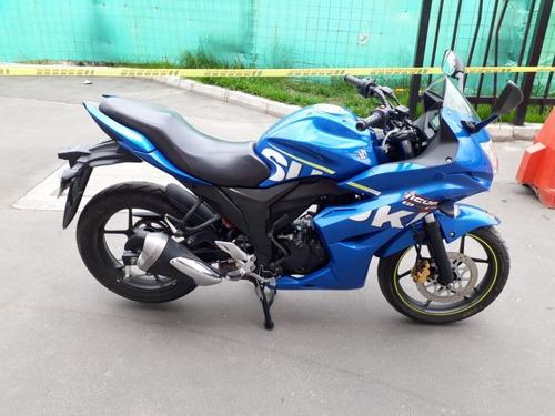 gixxer sf 150 azul