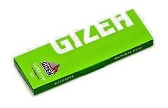 gizeh papel sedas fine verde pack x500 cigarrillos librillo