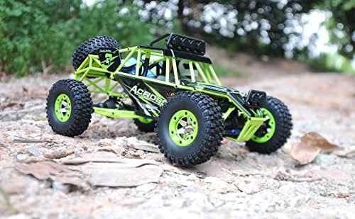 gizmovine rc rock crawler car 4wd 4 modos de direccin i...