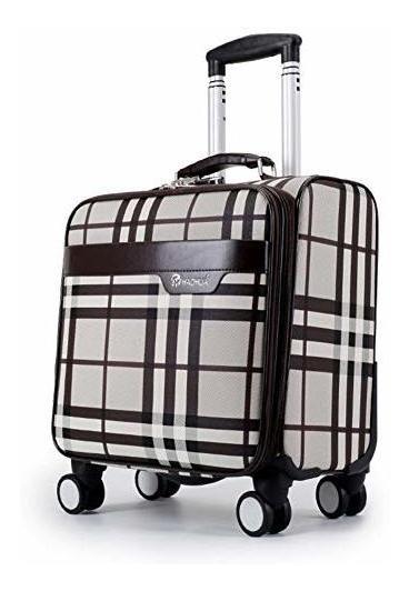 f7d8b0927445 Gjf Unisex Board Luggage Box, Silent Universal Wheel Lightwe