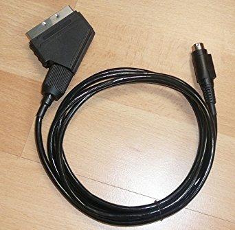 gkg sega saturn rgb scart del cable principal de ratón sob