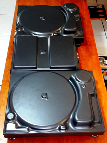 gl dj cover kit capas para 2 technics mkii + mixer rane 62