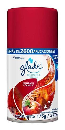 glade aerosol automatico, 270 cc, lavanda vainilla