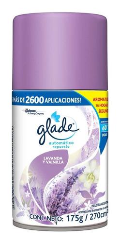 glade automático - 12 repuestos - aromas a elegir