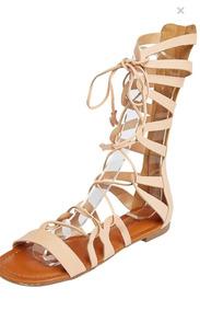 13dd20d93e Sandalia Gladiadora Rasteira Cano Curto - Sapatos no Mercado Livre ...