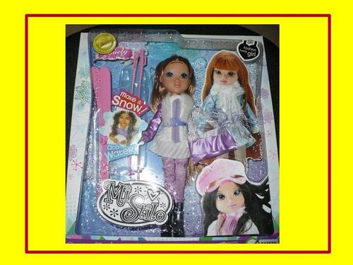 glamorosa muñeca mi stilo. rubia.