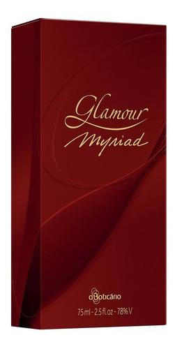 glamour myriad desodorante colônia 75ml