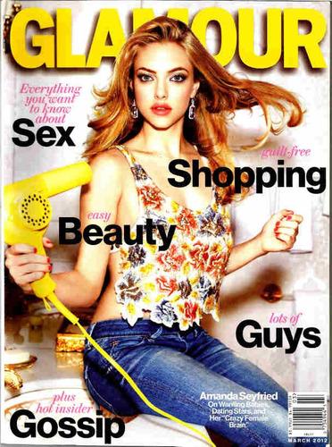 glamour * seyfried * katy perry * kunis * ke$ha * cyrus
