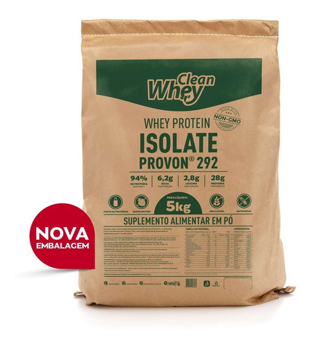 glanbia clean whey isolada provon 292 5kg promoção