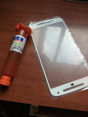 glass + gel uv moto g2