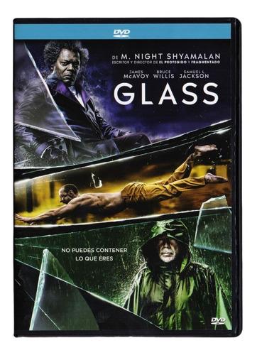 glass samuel jackson james mcavoy bruce willis pelicula dvd