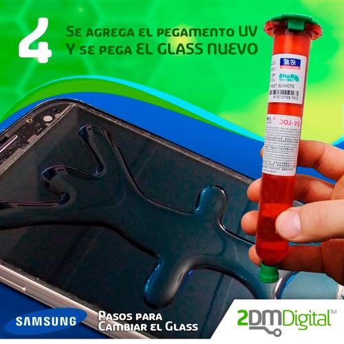 glass vidrio cristal mica samsung galaxy con instalacion !!!