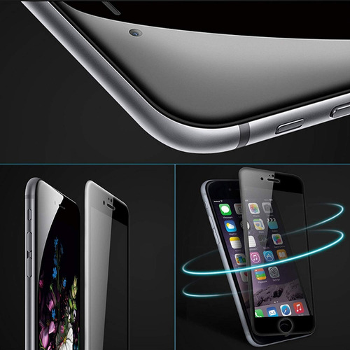 glass vidrio templado curvo 5d iphone 6s 7 8 plus xr xs max