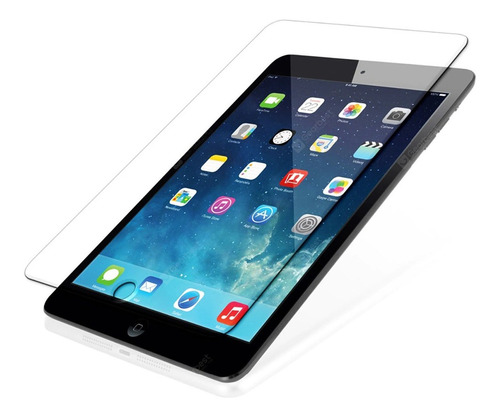 glass vidrio templado ipad 2 3 4 new 9,7 pro 10,5 air air 2