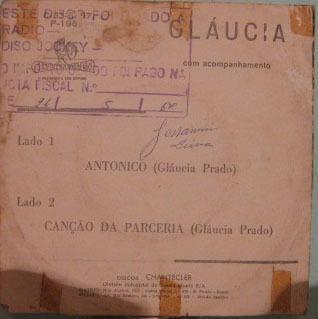 gláucia  -  gláucia - compacto - 1967