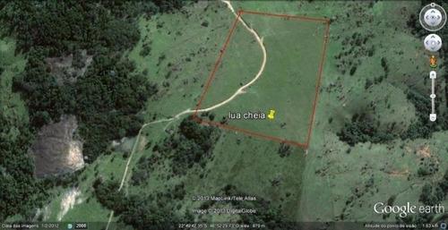 gleba rural - boa topografia e linda vista - ch0059