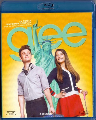 glee cuarta temporada 4 cuatro blu-ray